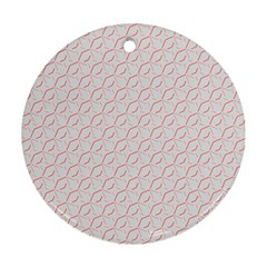 Wallpaper Abstract Pattern Graphic Round Ornament (two Sides)