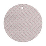 Wallpaper Abstract Pattern Graphic Round Ornament (Two Sides) Back