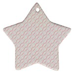 Wallpaper Abstract Pattern Graphic Star Ornament (Two Sides) Back