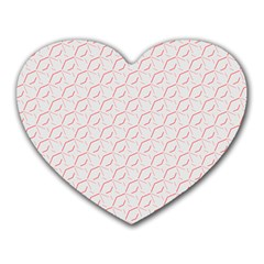 Wallpaper Abstract Pattern Graphic Heart Mousepads