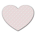 Wallpaper Abstract Pattern Graphic Heart Mousepads Front
