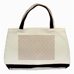 Wallpaper Abstract Pattern Graphic Basic Tote Bag (two Sides) by HermanTelo