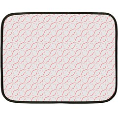 Wallpaper Abstract Pattern Graphic Double Sided Fleece Blanket (mini)