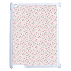 Wallpaper Abstract Pattern Graphic Apple Ipad 2 Case (white)