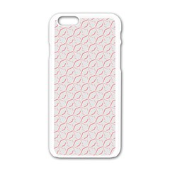 Wallpaper Abstract Pattern Graphic Iphone 6/6s White Enamel Case by HermanTelo