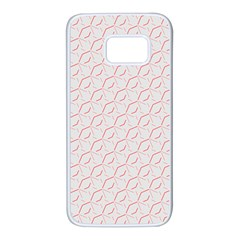 Wallpaper Abstract Pattern Graphic Samsung Galaxy S7 White Seamless Case by HermanTelo