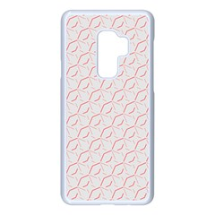 Wallpaper Abstract Pattern Graphic Samsung Galaxy S9 Plus Seamless Case(white)