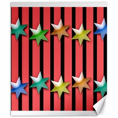 Star Christmas Greeting Canvas 20  X 24  by HermanTelo