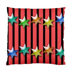 Star Christmas Greeting Standard Cushion Case (one Side) by HermanTelo