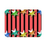Star Christmas Greeting Double Sided Flano Blanket (Mini)  35 x27  Blanket Back