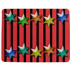 Star Christmas Greeting Jigsaw Puzzle Photo Stand (rectangular)