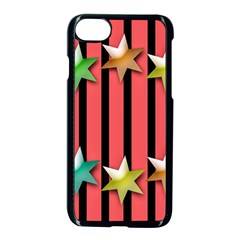 Star Christmas Greeting Iphone 8 Seamless Case (black)