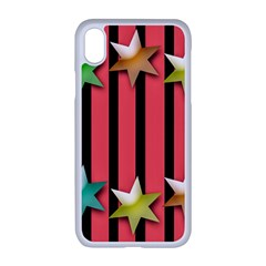 Star Christmas Greeting Iphone Xr Seamless Case (white)