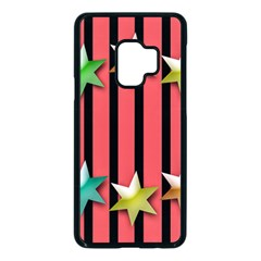 Star Christmas Greeting Samsung Galaxy S9 Seamless Case(black)