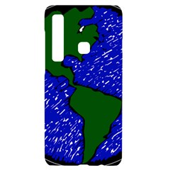 Globe Drawing Earth Ocean Samsung Case Others by HermanTelo