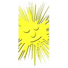 Smilie Sun Emoticon Yellow Cheeky Iphone 7/8 Soft Bumper Uv Case