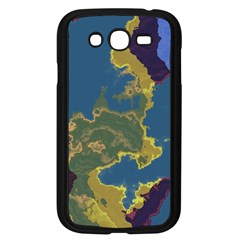Map Geography World Samsung Galaxy Grand Duos I9082 Case (black) by HermanTelo