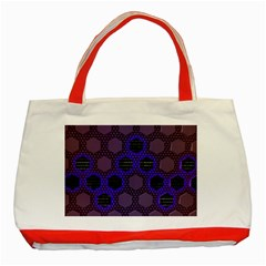 Networking Communication Technology Classic Tote Bag (red) by HermanTelo