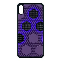 Networking Communication Technology Iphone Xs Max Seamless Case (black)