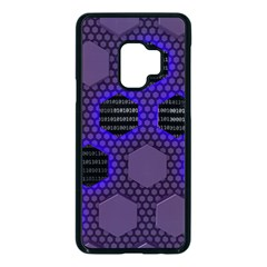 Networking Communication Technology Samsung Galaxy S9 Seamless Case(black) by HermanTelo