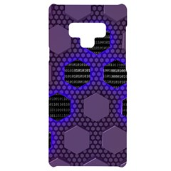 Networking Communication Technology Samsung Note 9 Black Uv Print Case  by HermanTelo