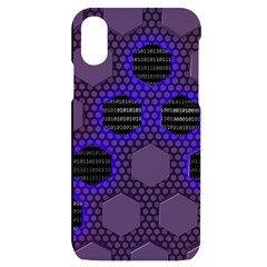 Networking Communication Technology Iphone X/xs Black Uv Print Case
