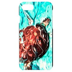 Tortoise Marine Animal Shell Sea Iphone 7/8 Black Uv Print Case