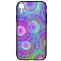 Circle Colorful Pattern Background Iphone Xr Soft Bumper Uv Case