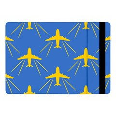 Aircraft Texture Blue Yellow Apple Ipad Pro 10 5   Flip Case