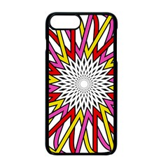 Sun Abstract Mandala Iphone 7 Plus Seamless Case (black) by HermanTelo