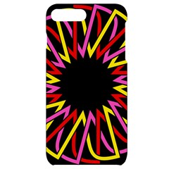 Sun Abstract Mandala Iphone 7/8 Plus Black Uv Print Case