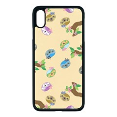 Sloth Neutral Color Cute Cartoon Iphone Xs Max Seamless Case (black)