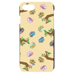 Sloth Neutral Color Cute Cartoon Iphone 7/8 Black Uv Print Case