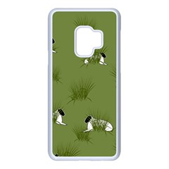 Sheep Lambs Samsung Galaxy S9 Seamless Case(white)