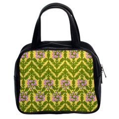 Texture Nature Erica Classic Handbag (two Sides) by HermanTelo