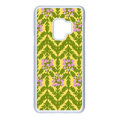 Texture Nature Erica Samsung Galaxy S9 Seamless Case(white)