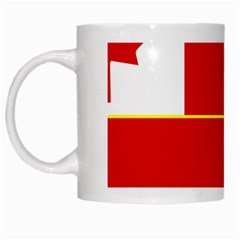 Flag Of The Canadian Army White Mugs by abbeyz71