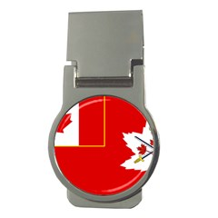 Flag Of The Canadian Army Money Clips (round)  by abbeyz71