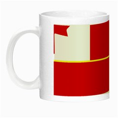 Flag Of The Canadian Army Night Luminous Mugs by abbeyz71