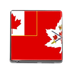 Flag Of The Canadian Army Memory Card Reader (square 5 Slot) by abbeyz71