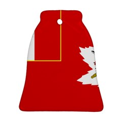 Flag Of The Canadian Army Ornament (bell) by abbeyz71