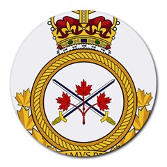 Badge Of The Canadian Army Round Mousepads by abbeyz71