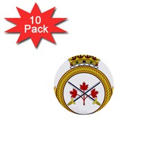Badge Of The Canadian Army 1  Mini Buttons (10 Pack)  by abbeyz71