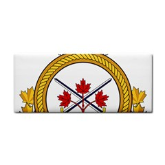 Badge Of The Canadian Army Hand Towel by abbeyz71