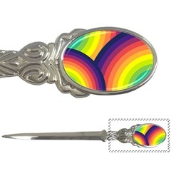 Background Rainbow Colors Colorful Letter Opener