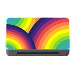 Background Rainbow Colors Colorful Memory Card Reader with CF Front
