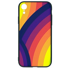 Background Rainbow Colors Colorful Iphone Xr Soft Bumper Uv Case