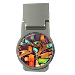 Graffiti Mural Street Art Wall Art Money Clips (Round)  Front