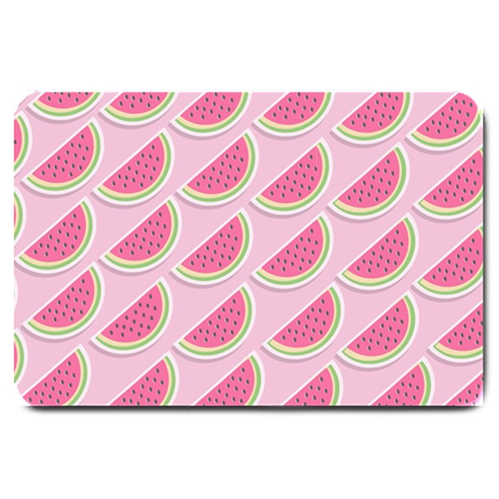 Melons Pattern Food Fruits Melon Large Doormat