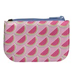 Melons Pattern Food Fruits Melon Large Coin Purse Back